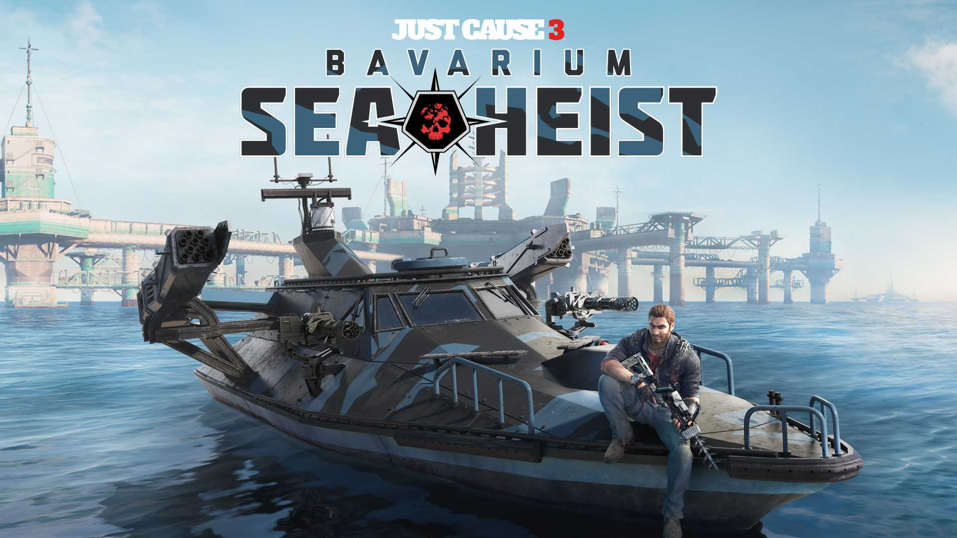 Just Cause 3 Bavarium Sea...
