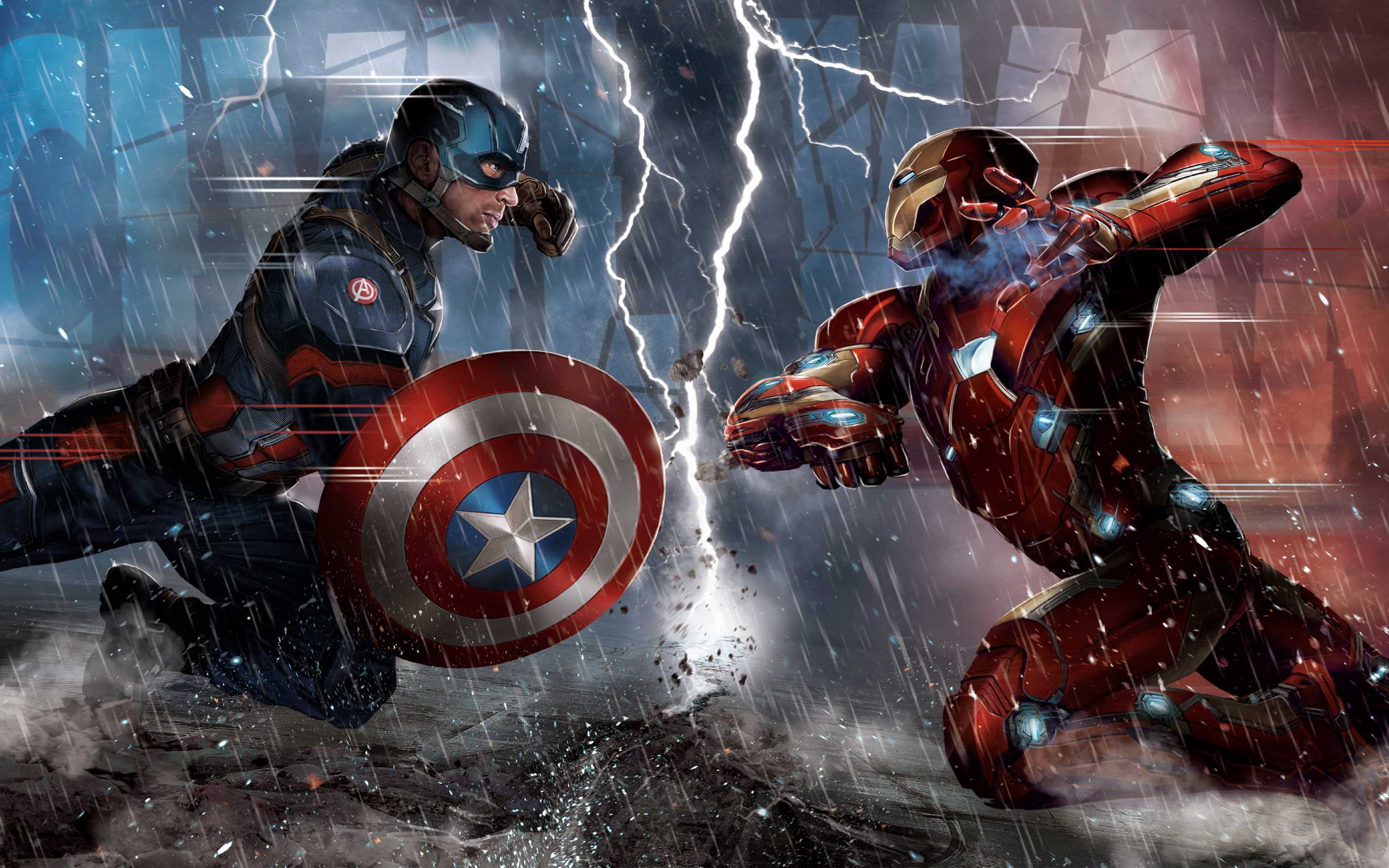 Captain America Civil War...