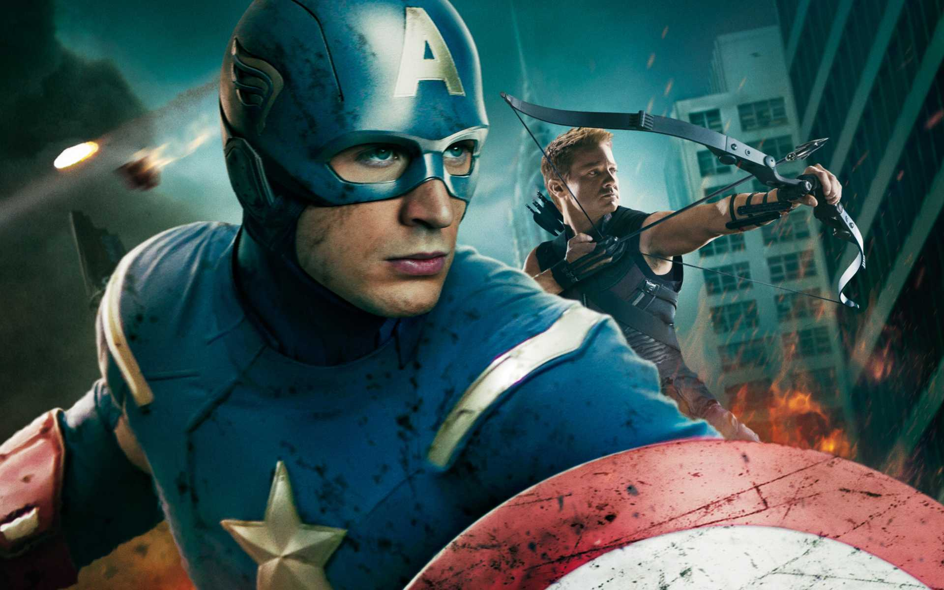Captain America in Avengers...