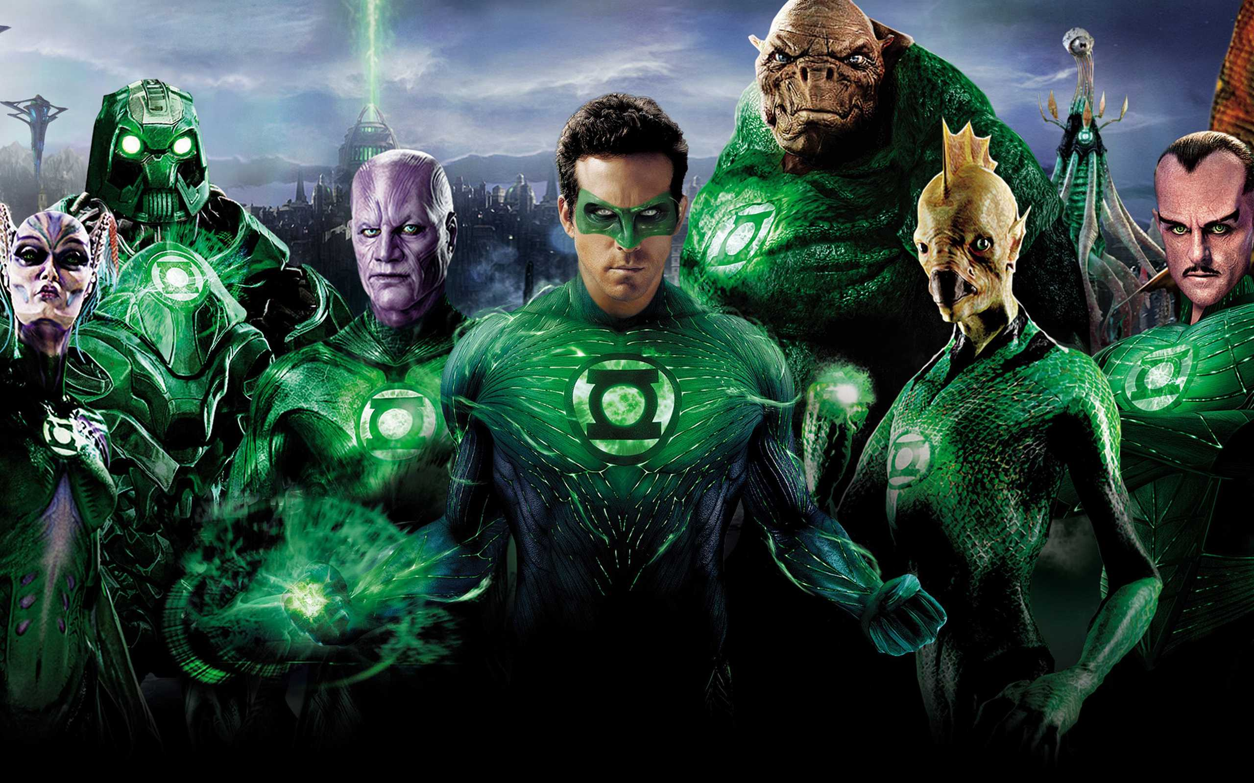 Green Lantern Superheroes
