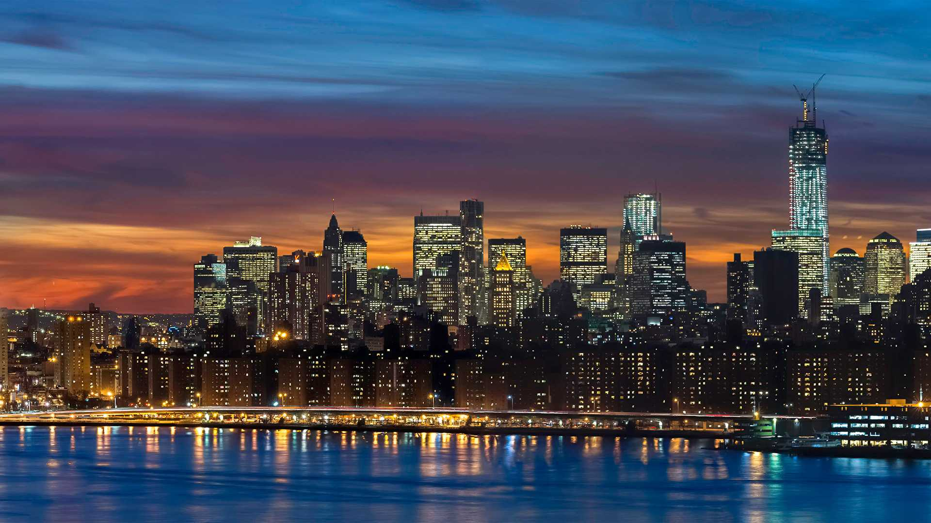 Manhattan Skyline New York...