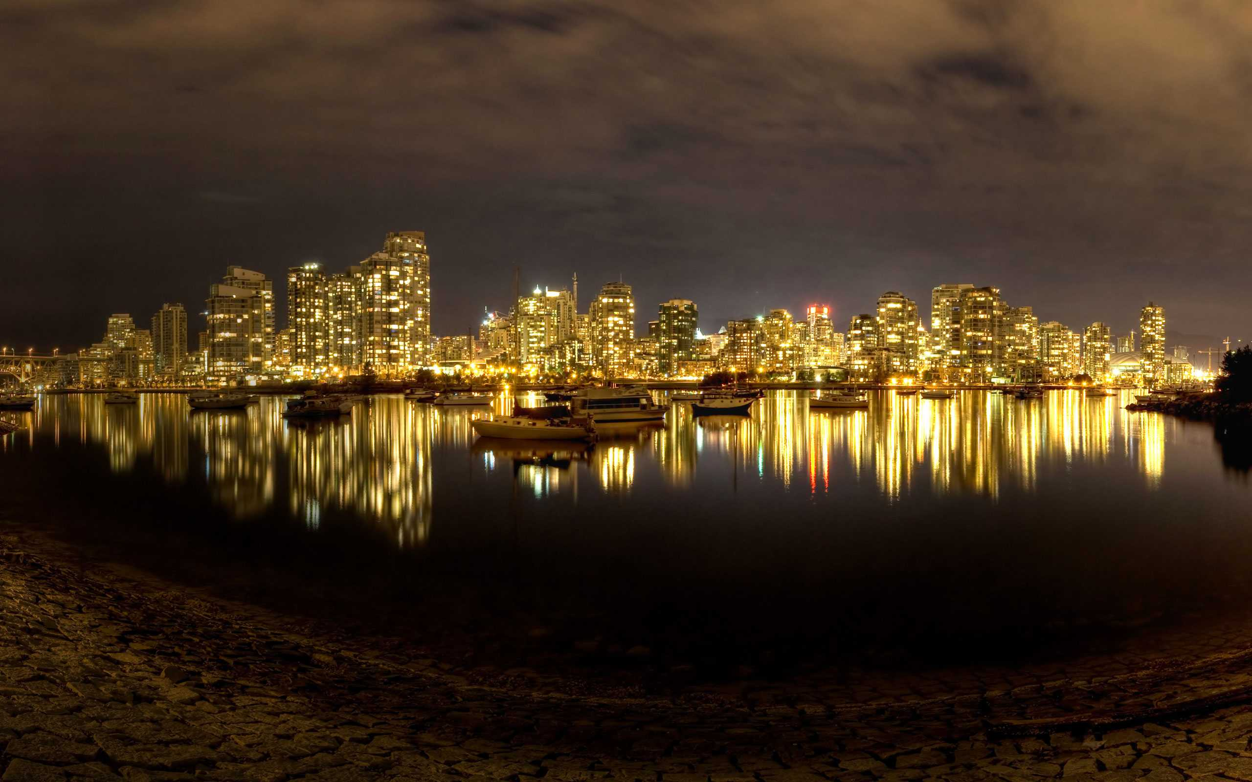 False Creek at Night