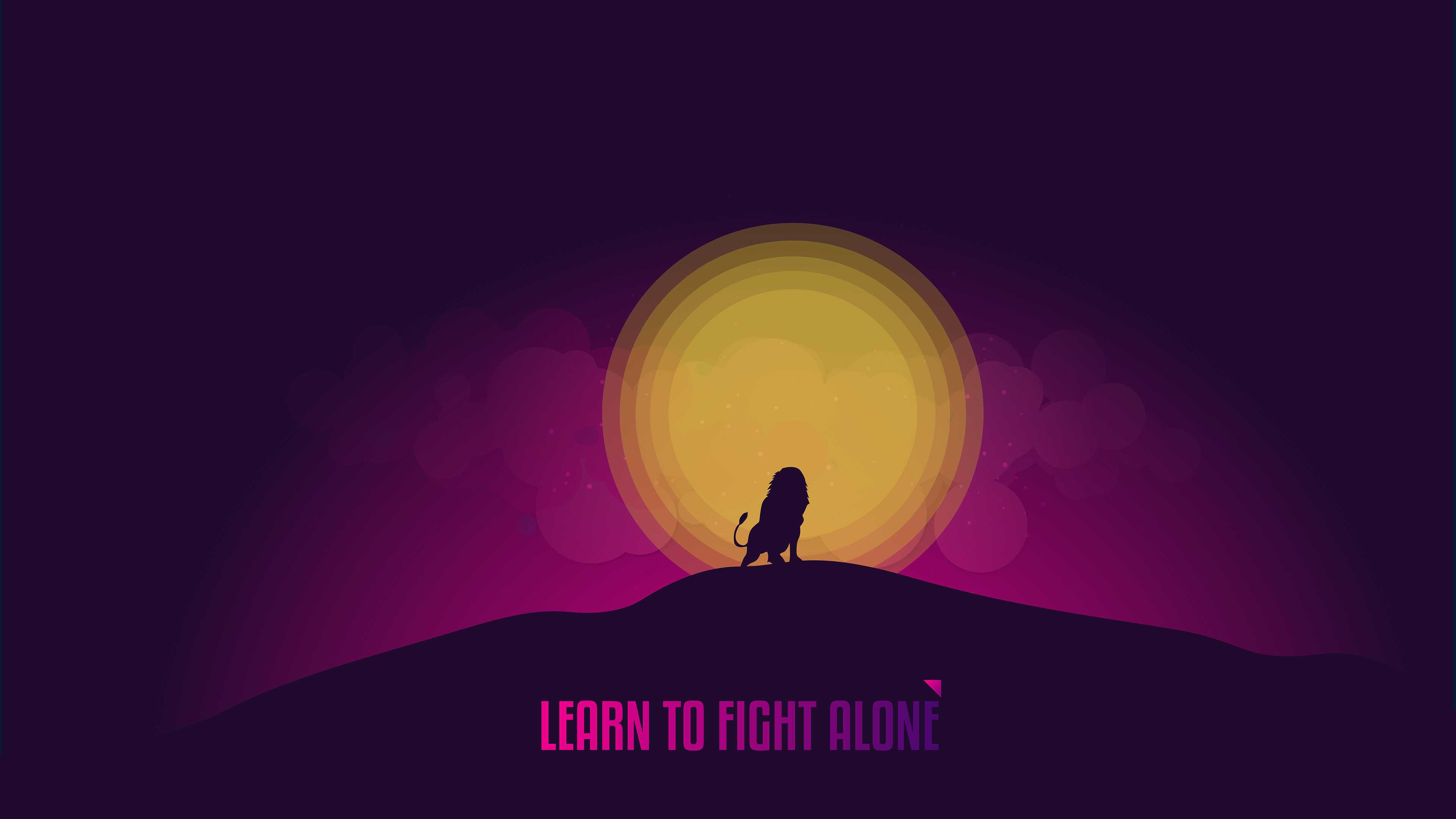 Lean to Fight Alone 4K