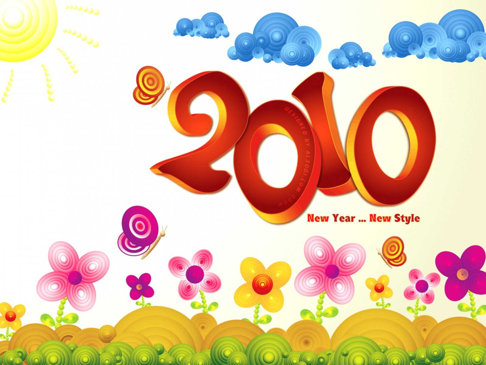2010 New Year New Style