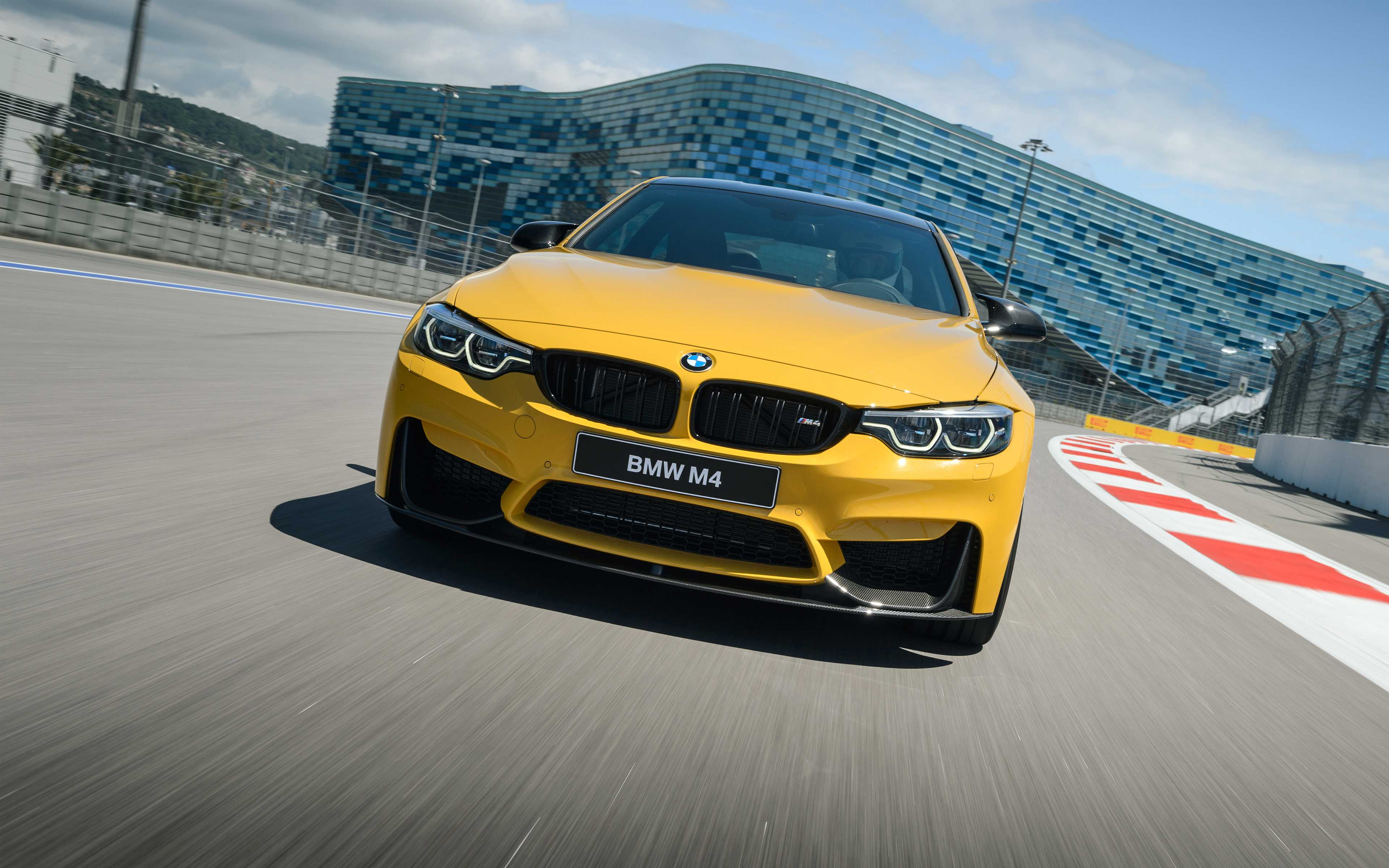 BMW M4 Coupe Competition 4K