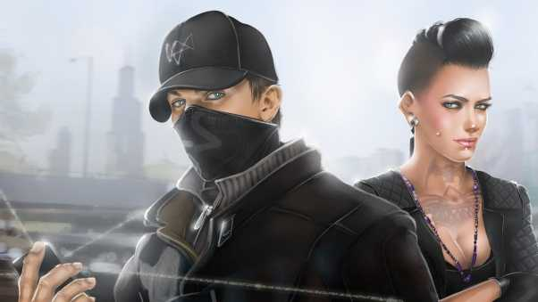 aiden pearce, chicago, watch dogs