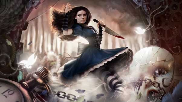 alice madness returns, alice, doll