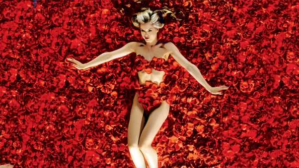 american beauty, girl, red