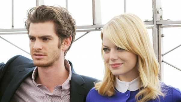 andrew garfield, emma stone, celebrities