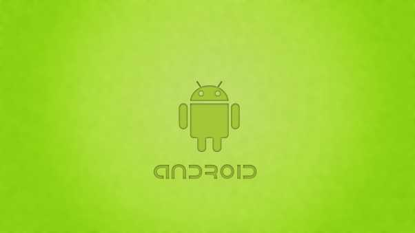 android, green, robot