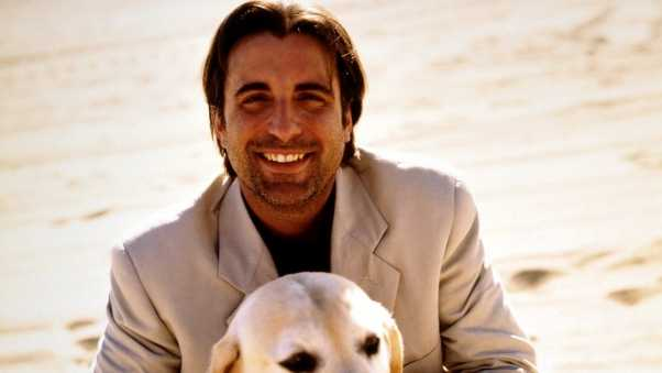 andy garcia, brown, dog