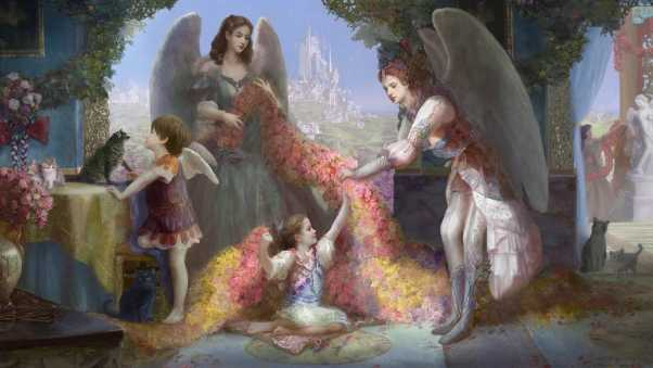 angels, family, home
