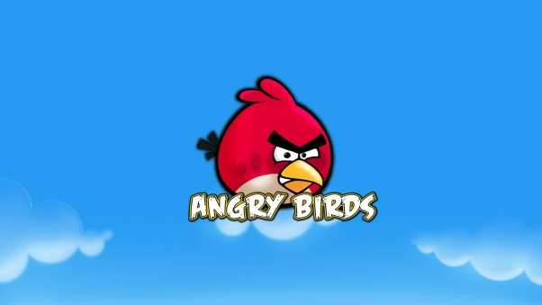 angry birds, bird, red