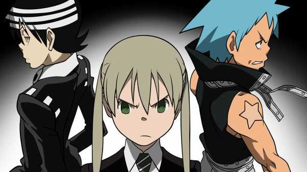anime, soul eater black star, boys