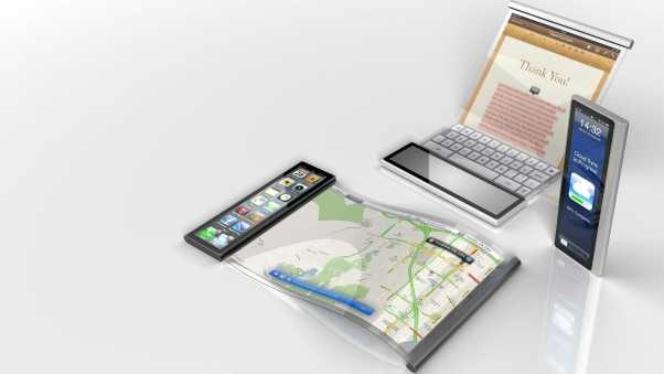 apple, concept, touch screen