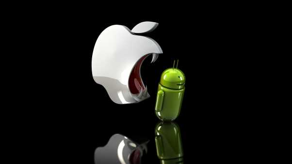 apple vs android, android, competition