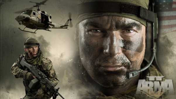 arma 2, soldiers, helicopters