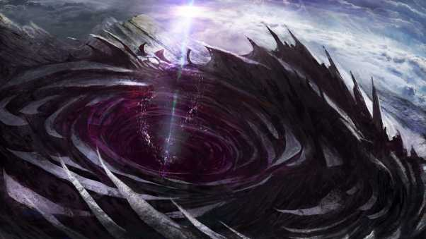 artwork, wormhole, expanse