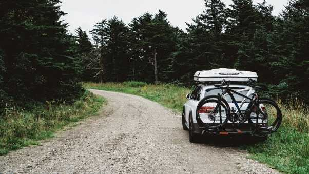 auto, bicycle, travel