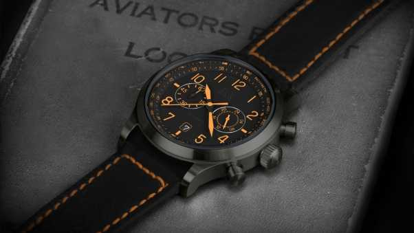 aviation, hamilton watch, wristwatch