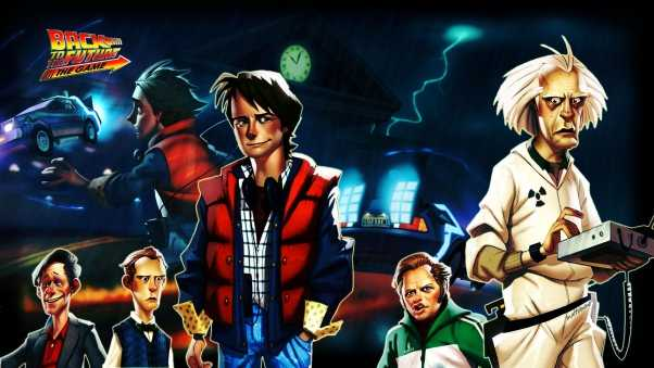 back to the future the game, telltale games, pc