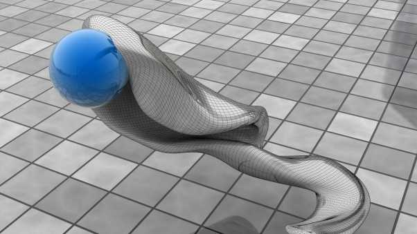ball, figurine, mesh
