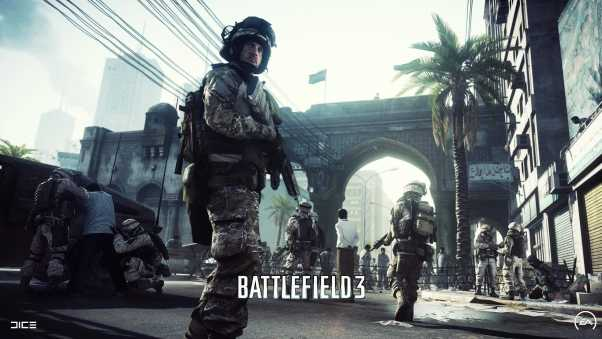 battlefield 3, soldiers, city