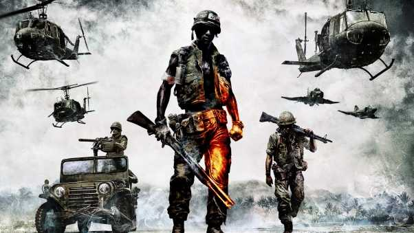 battlefield bad company 2, battlefield, soldiers