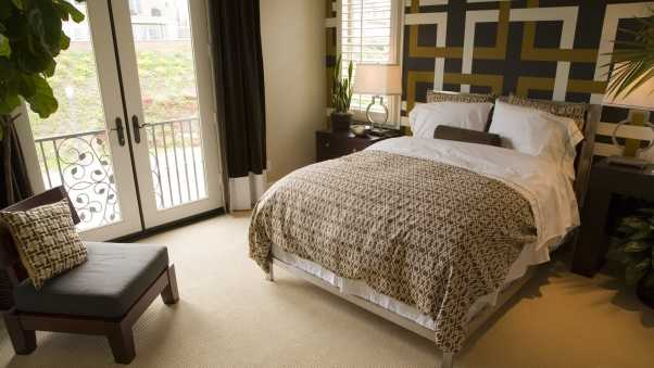 bed, bedroom, style