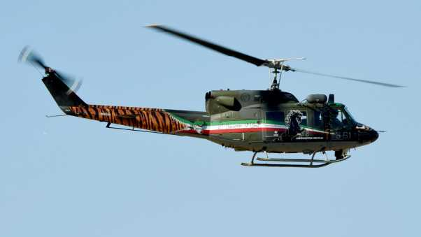 bell 212, helicopter, sky