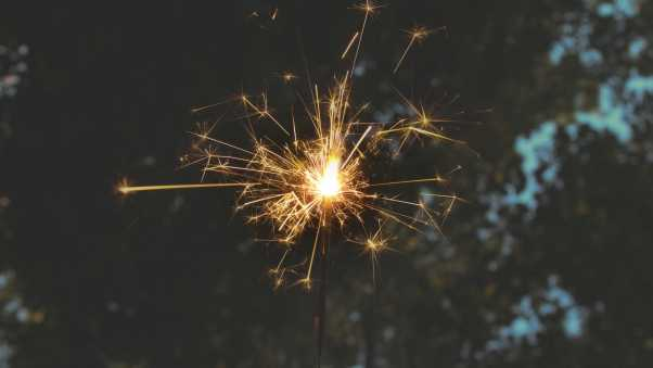 bengali fire, sparks, holiday