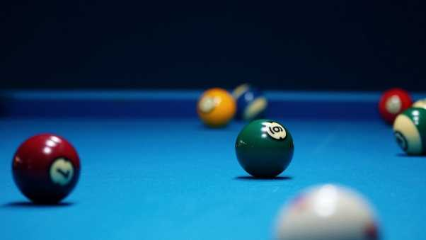 billiards, bowls, table