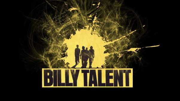 billy talent, silhouette, outline