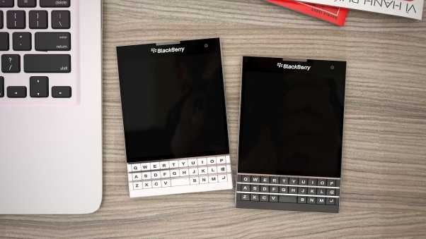 blackberry passport, cell phone, smartphone