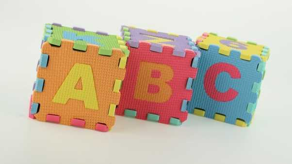 blocks, letters, colorful