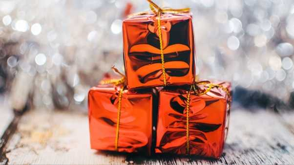 boxes, gifts, christmas
