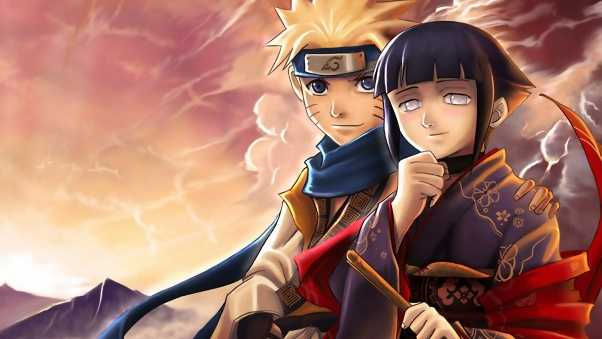 boy, girl, naruto