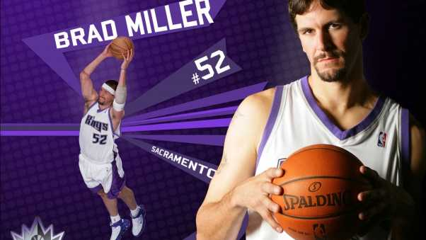 brad miller, basketball, ball