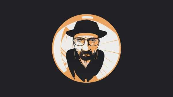 breaking bad, walter white, fish-eye lens
