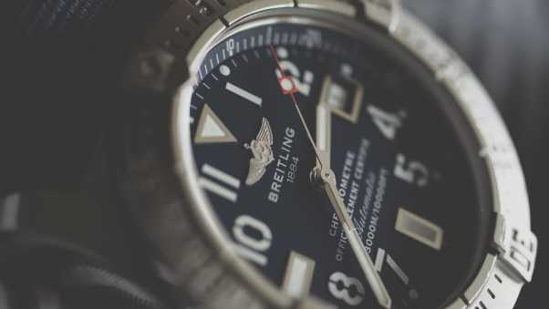 breitling, wristwatches, dial