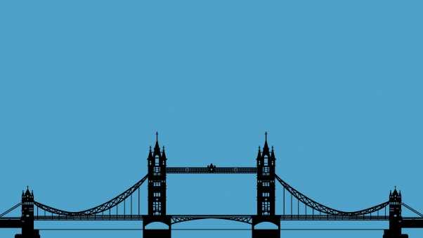 bridge, london, graphics