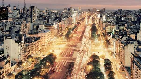 buenos aires, traffic, city
