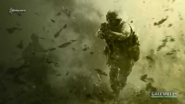 call of duty 4, modern warfare, soldiers