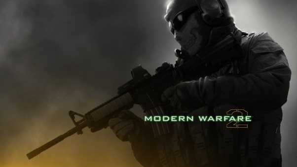 call of duty modern warfare 2, soldier, gun