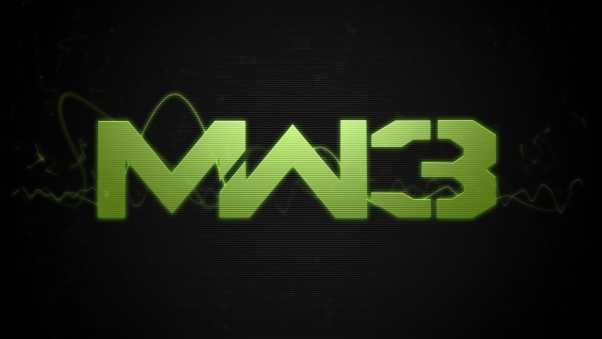 call of duty modern warfare 3, game, font
