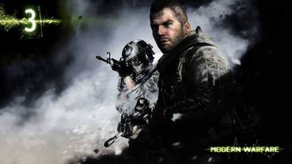 call of duty modern warfare 3, soldiers, scar