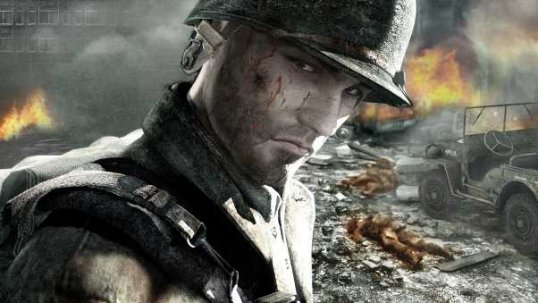 call of duty, soldier, face