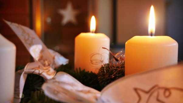 candles, christmas, new year
