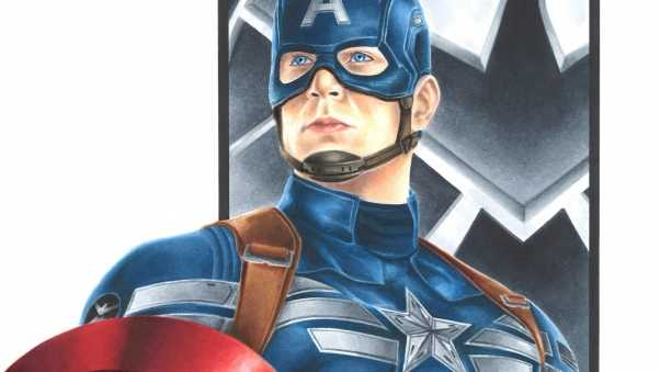 captain america, art, marvel comics