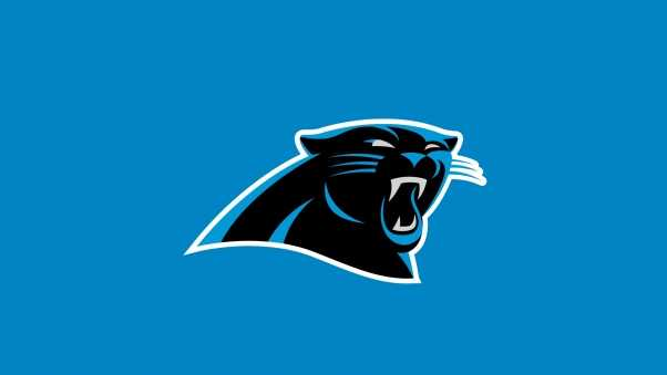 carolina panthers, american football, logo